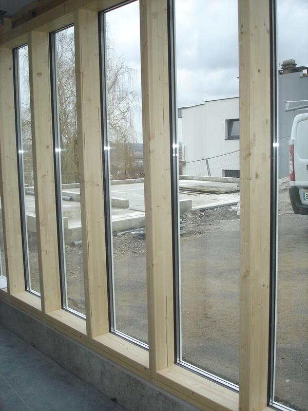 Menuiserie ext rieure fen tre bois alu et murs rideaux - Menuiserie exterieure alu ...